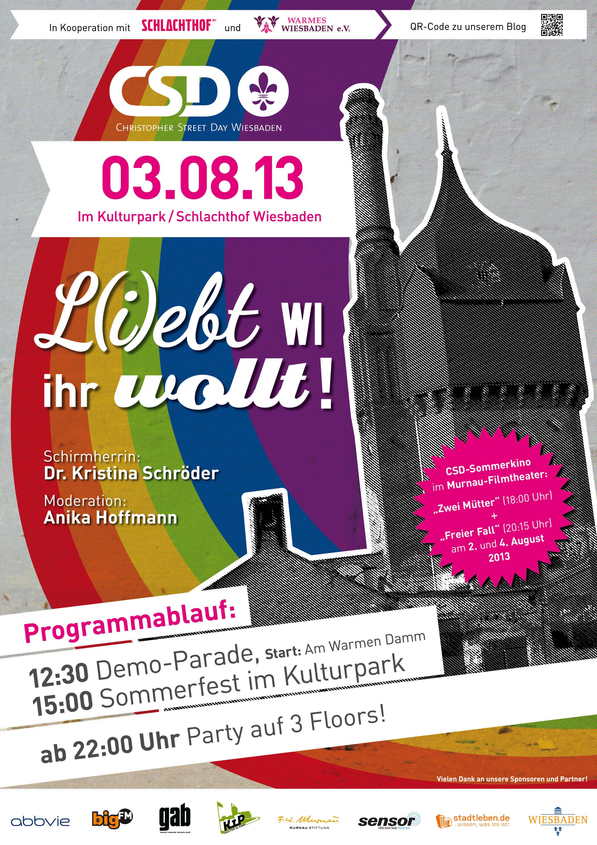 Countdown CSD Wiesbaden 2013
