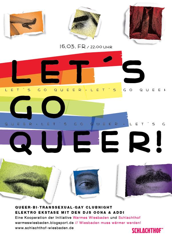 Let\'s go queer! März